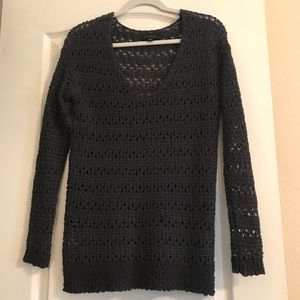 Ann Taylor Crochet Sweater!
